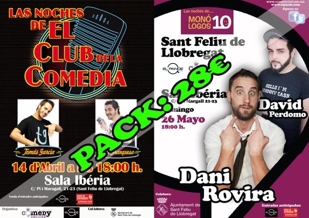 Pack Las Noches de El Club de la Comedia y Monólogos 10